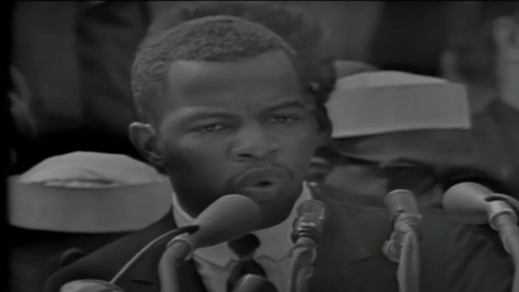 John Lewis Speech at the March on Washington