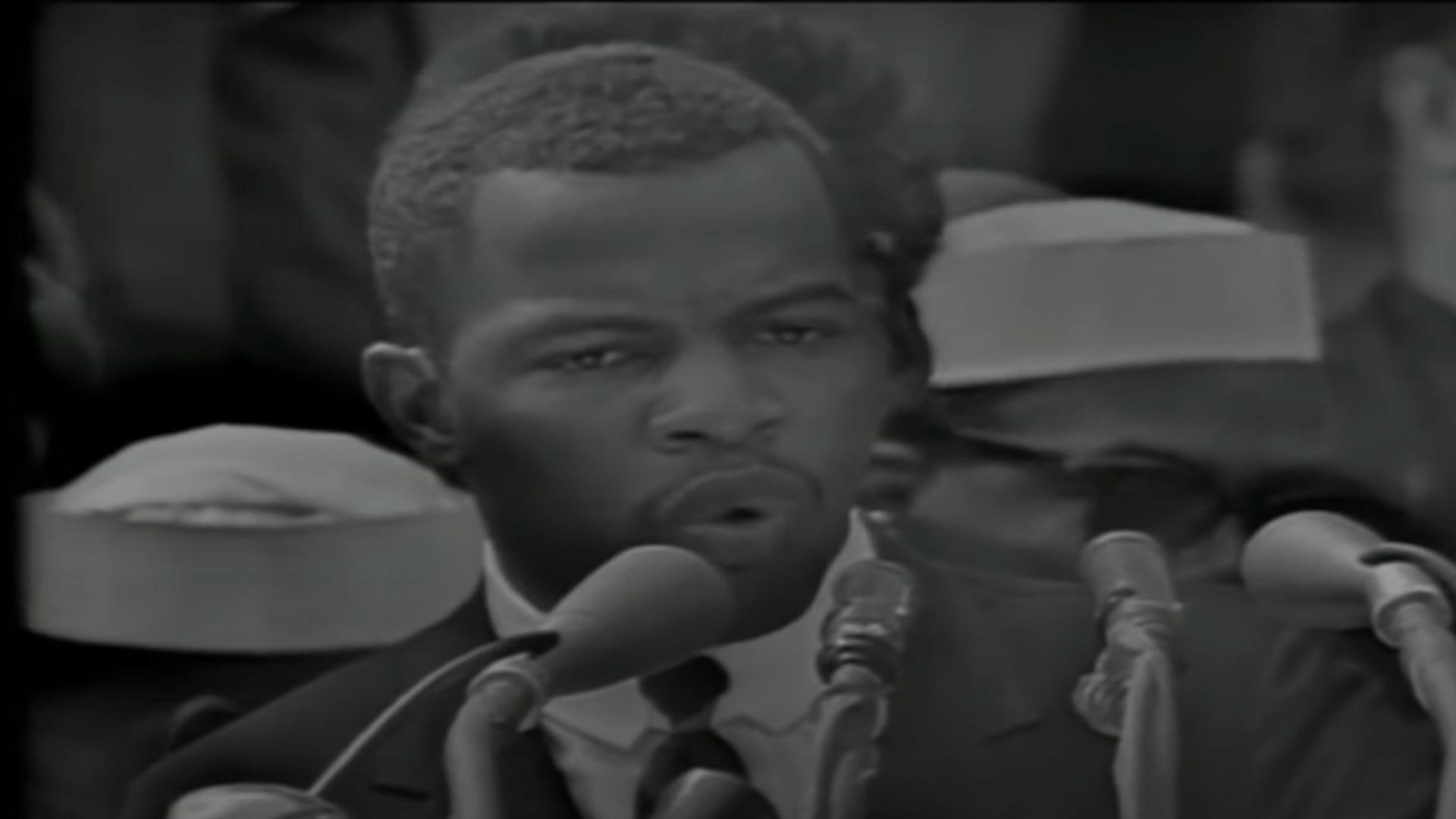 John Lewis Speech at the March on Washington