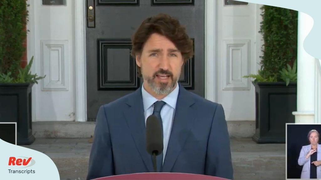 Justin Trudeau Press Conference June 8