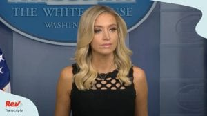 Kayleigh McEnany Press Conference June 19 White House