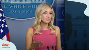 Kayleigh McEnany Press Conference June 8