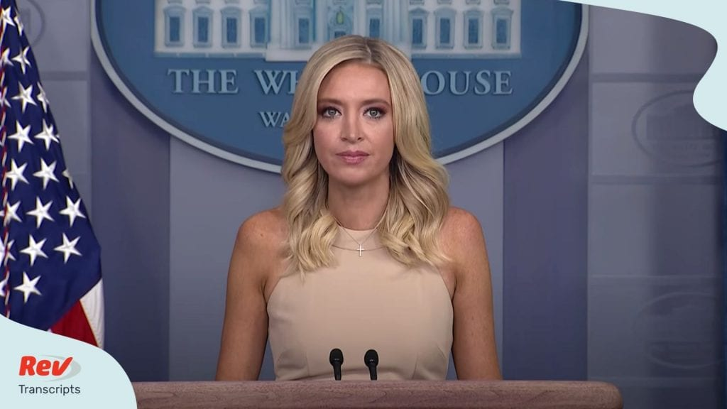 Kayleigh McEnany White House Press Conference June 30