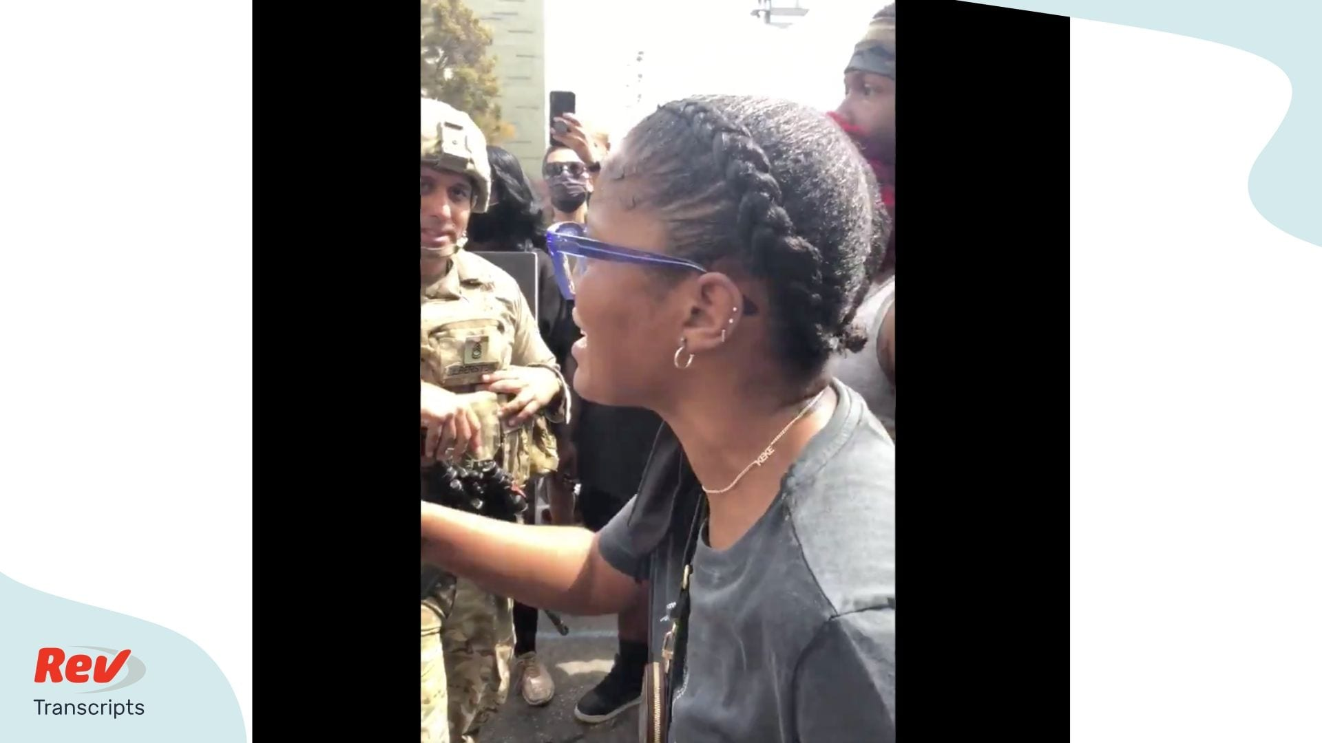 Keke Palmer Speech transcript george floyd protests