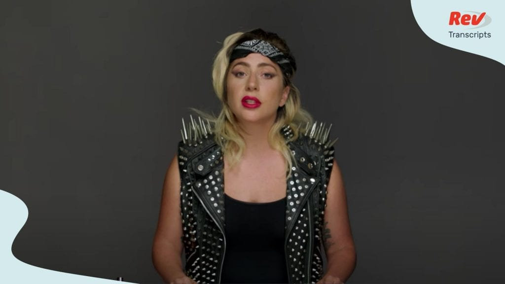 Lady Gaga Commencement Speech