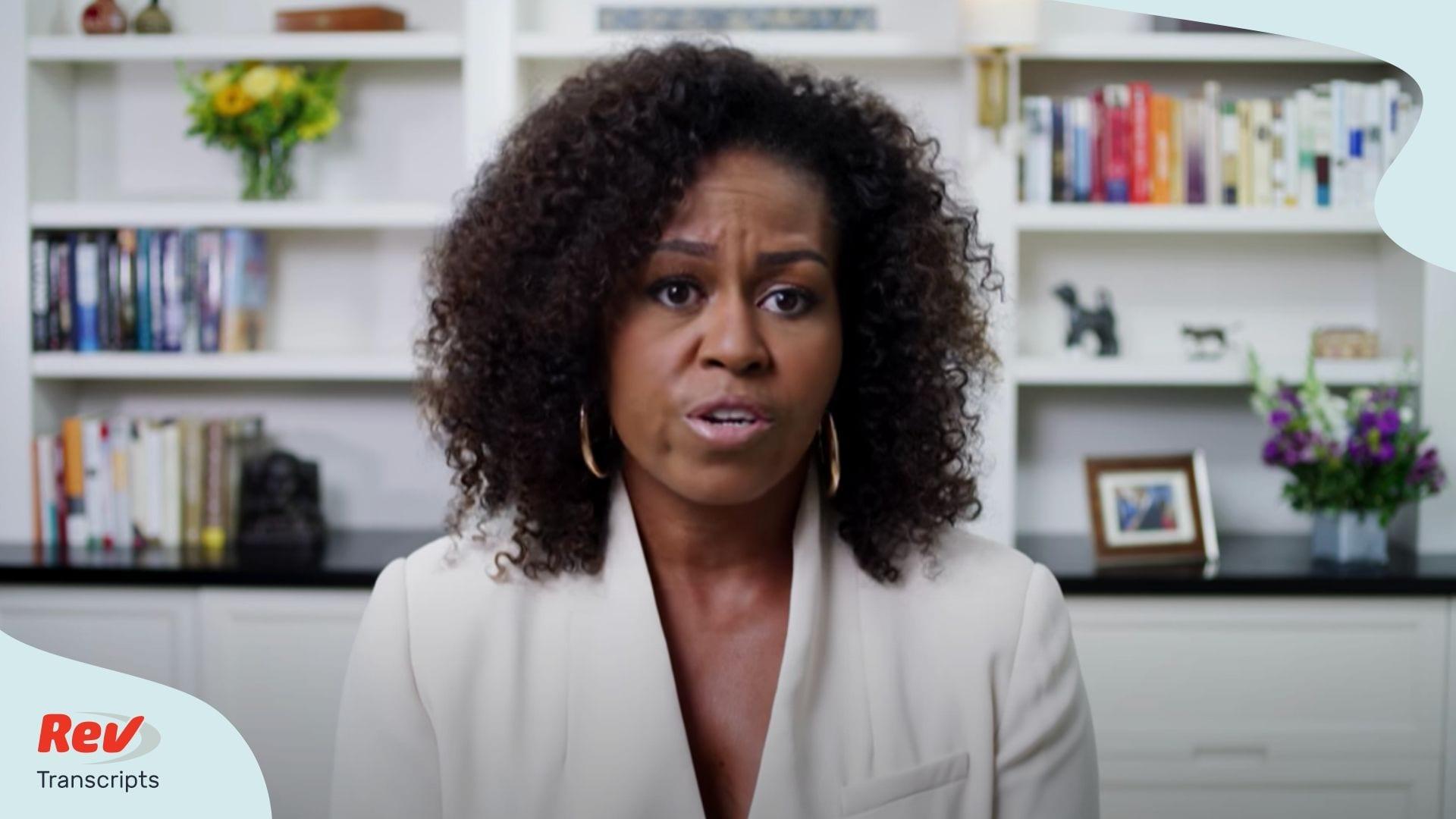 Michelle Obama Commencement Speech Transcript 2020