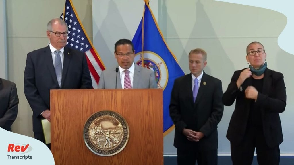 Minnesota AG Keith Ellison Press Conference Transcript