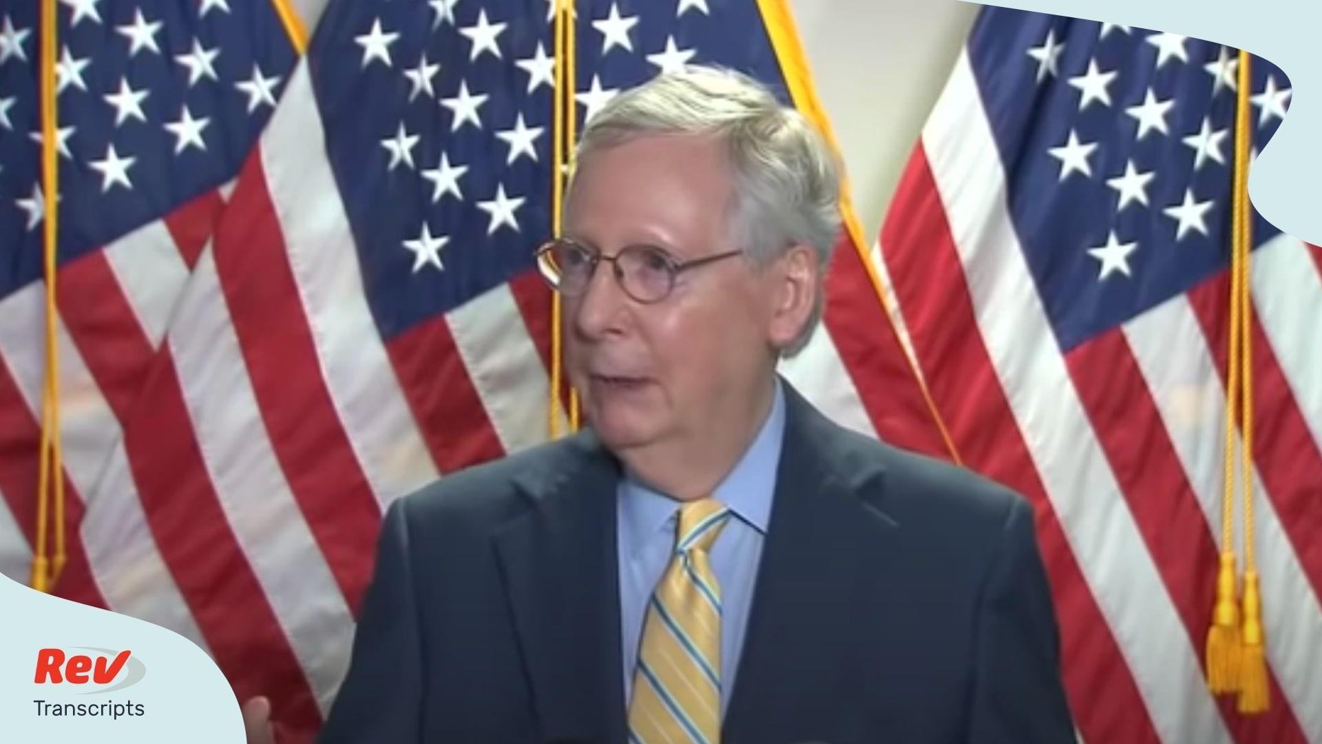 Mitch McConnell & Republicans Talk Russia Bounty Reports