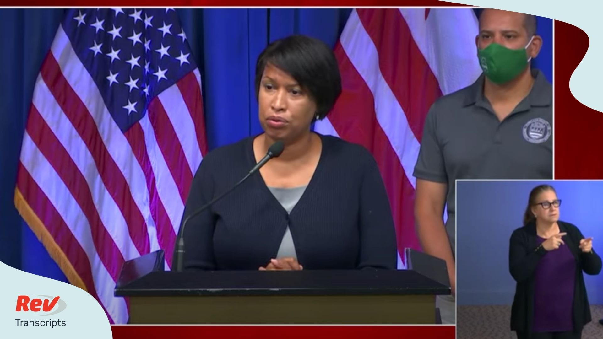 Muriel Bowser Press Conference Transcript June 22