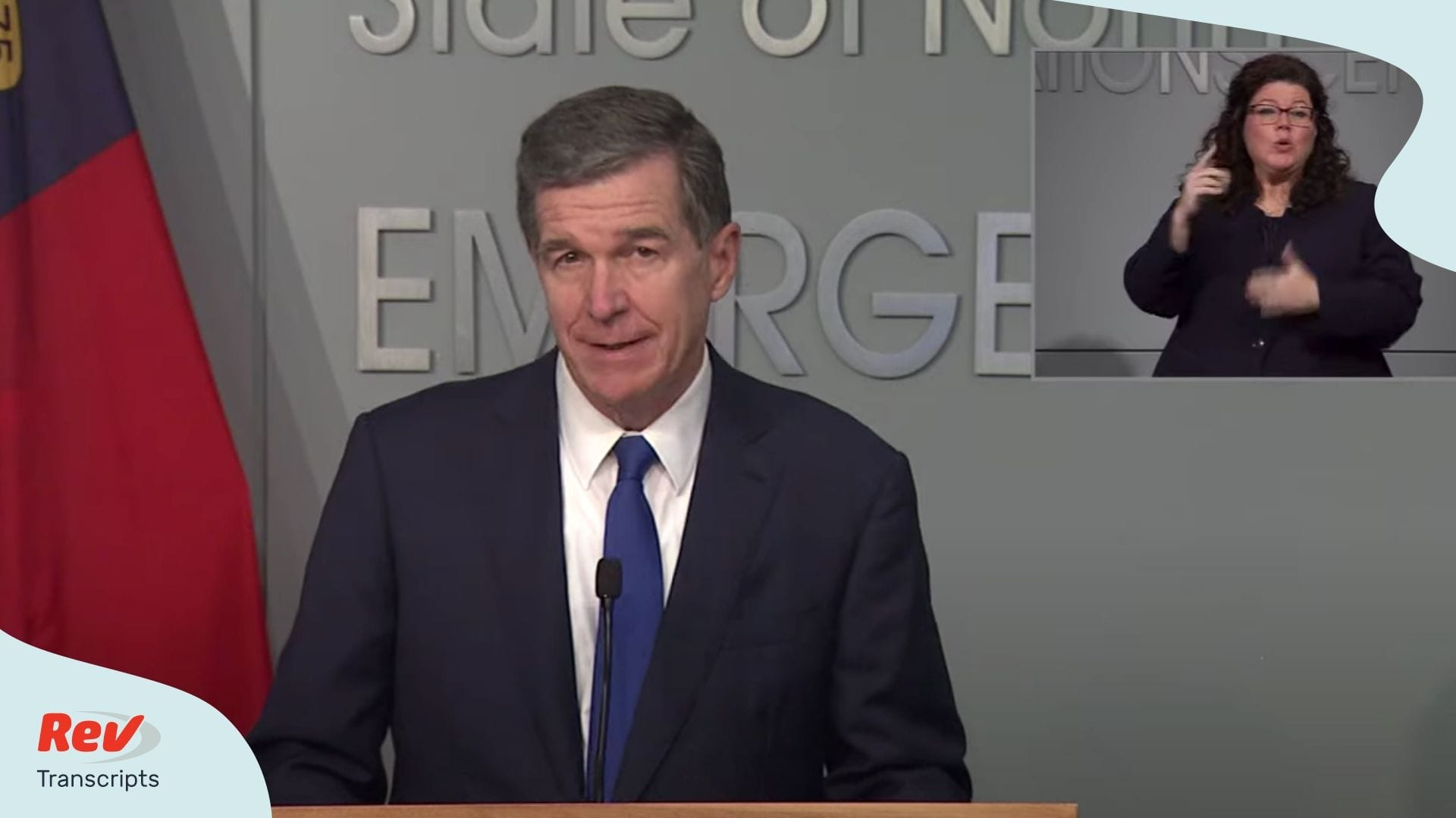 NC Governor Roy Cooper Press Conference June 24
