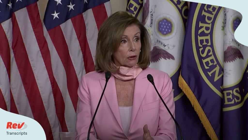 Pelosi Press Conference June 18