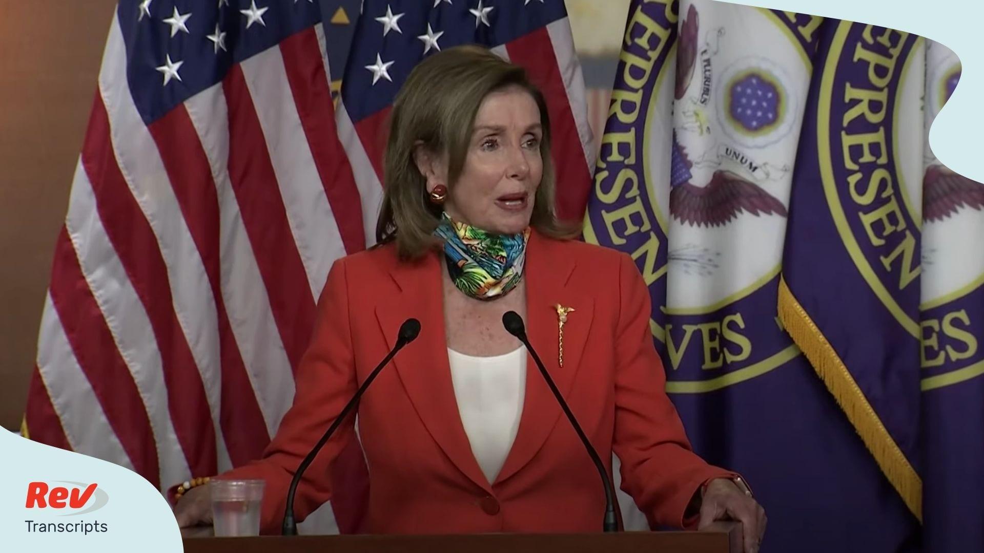 Nancy Pelosi Press Conference June 26