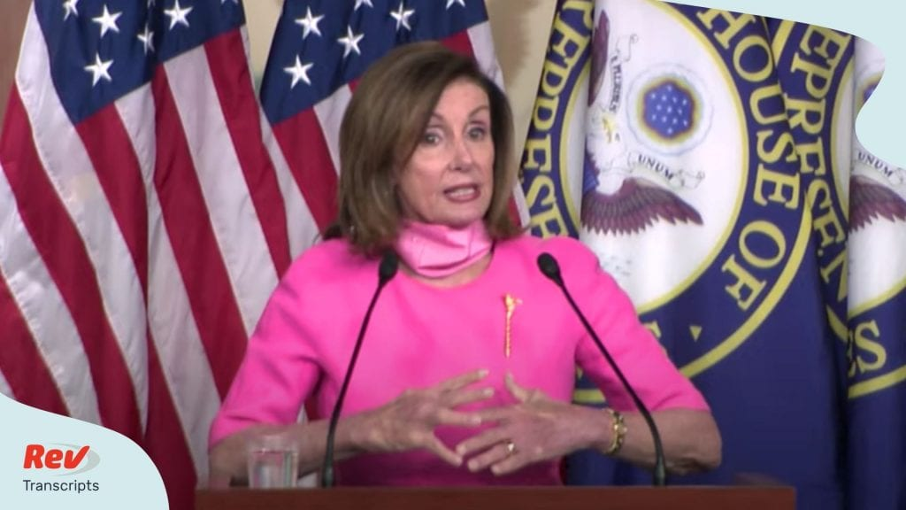 Nancy Pelosi Press Conference June 4