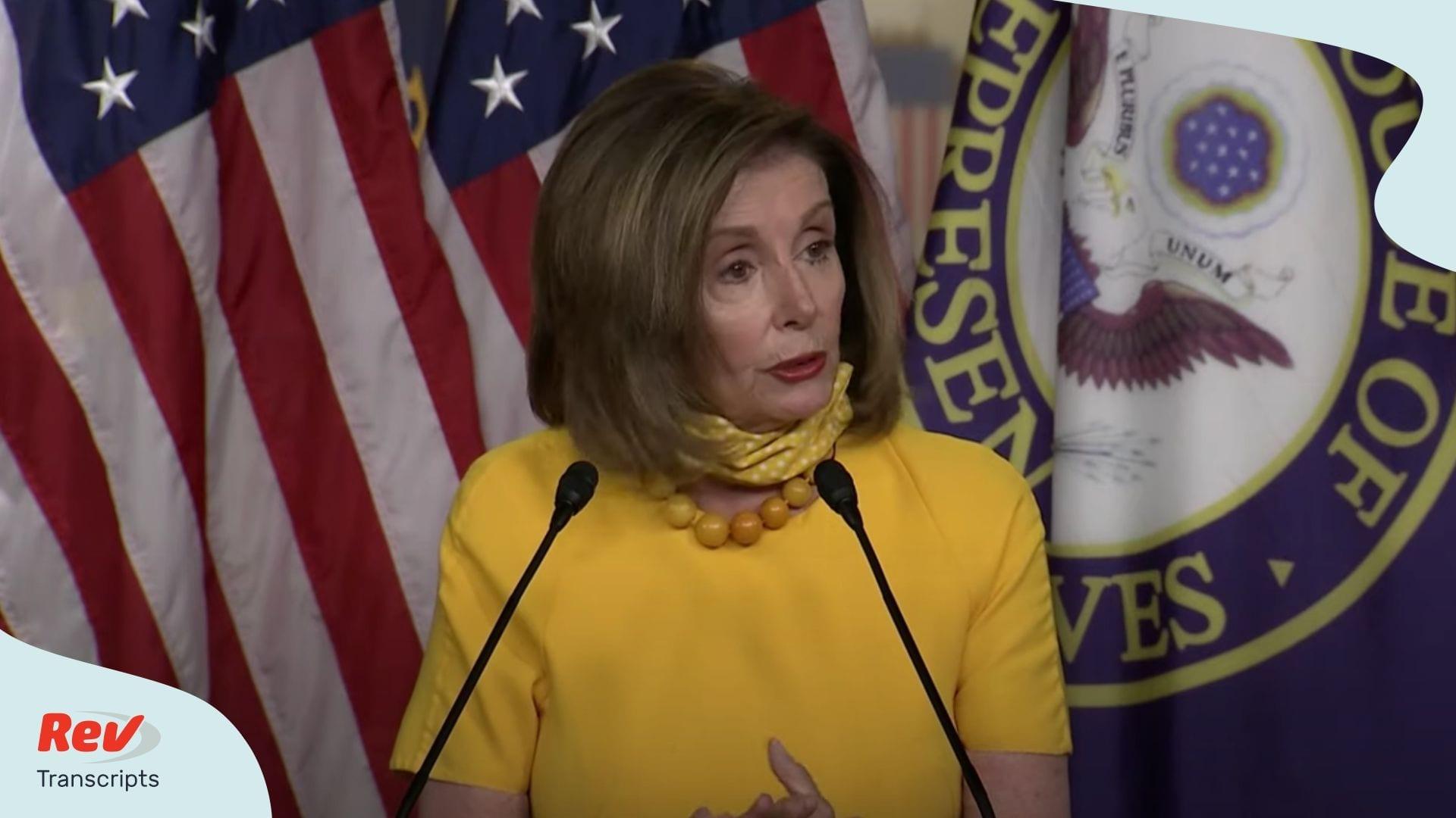 Nancy Pelosi Press Conference Transcript June 11