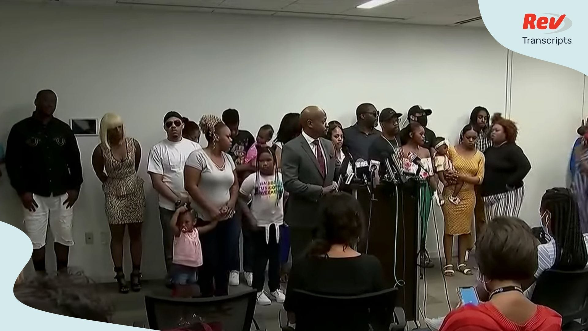 Rayshard Brooks Family & Attorneys Hold Press Conference