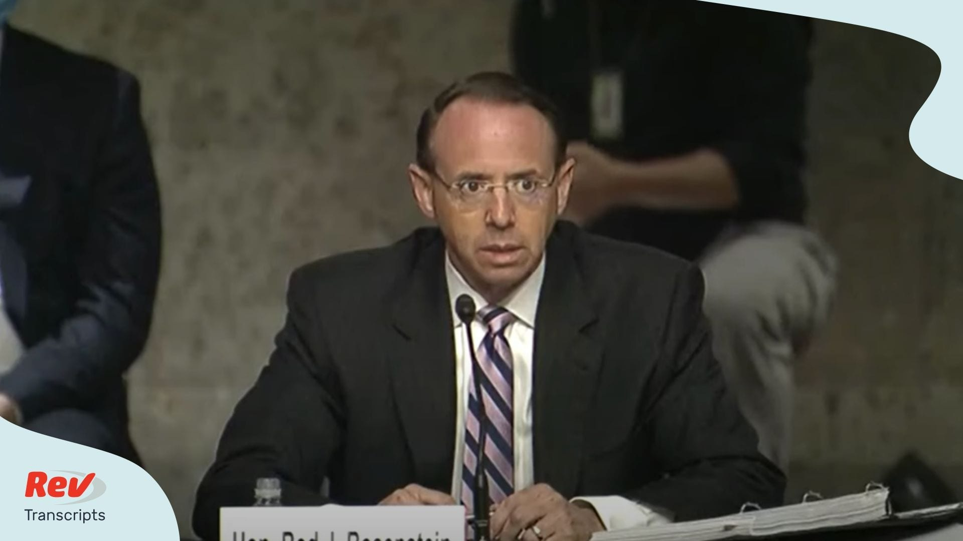 Rod Rosenstein Testimony Senate on Russia Investigation