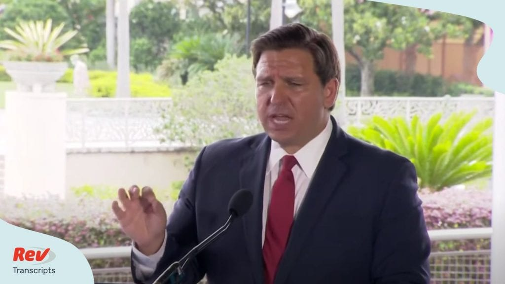 Ron DeSantis Press Conference June 3