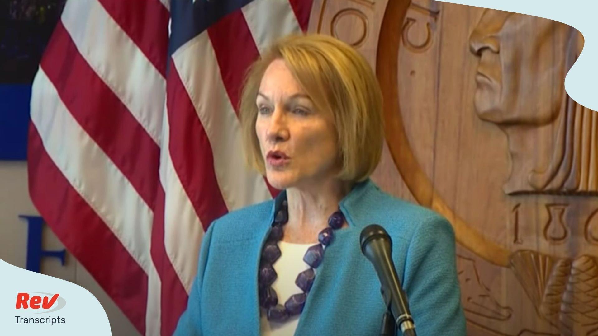Seattle Mayor Jenny Durkan Press Conference June 11