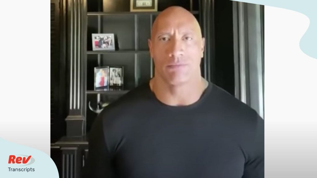 The Rock Online Video Speech for Compassionate Leadership