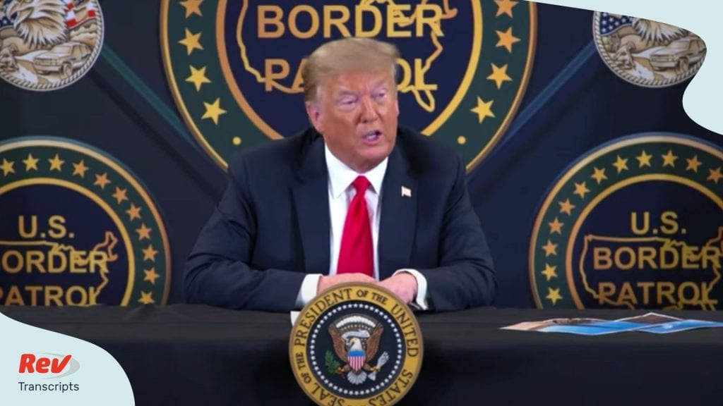 Trump Participates In Roundtable On Border Security