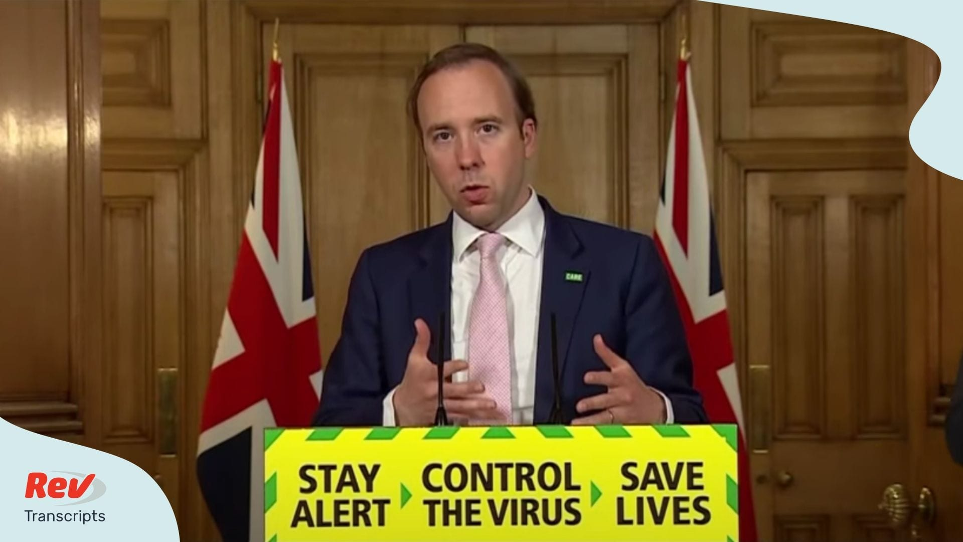 UK Coronavirus Press Conference June 8