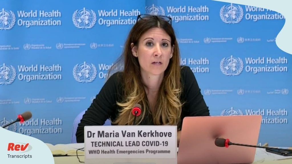 World Health Organization Press Conference June 12