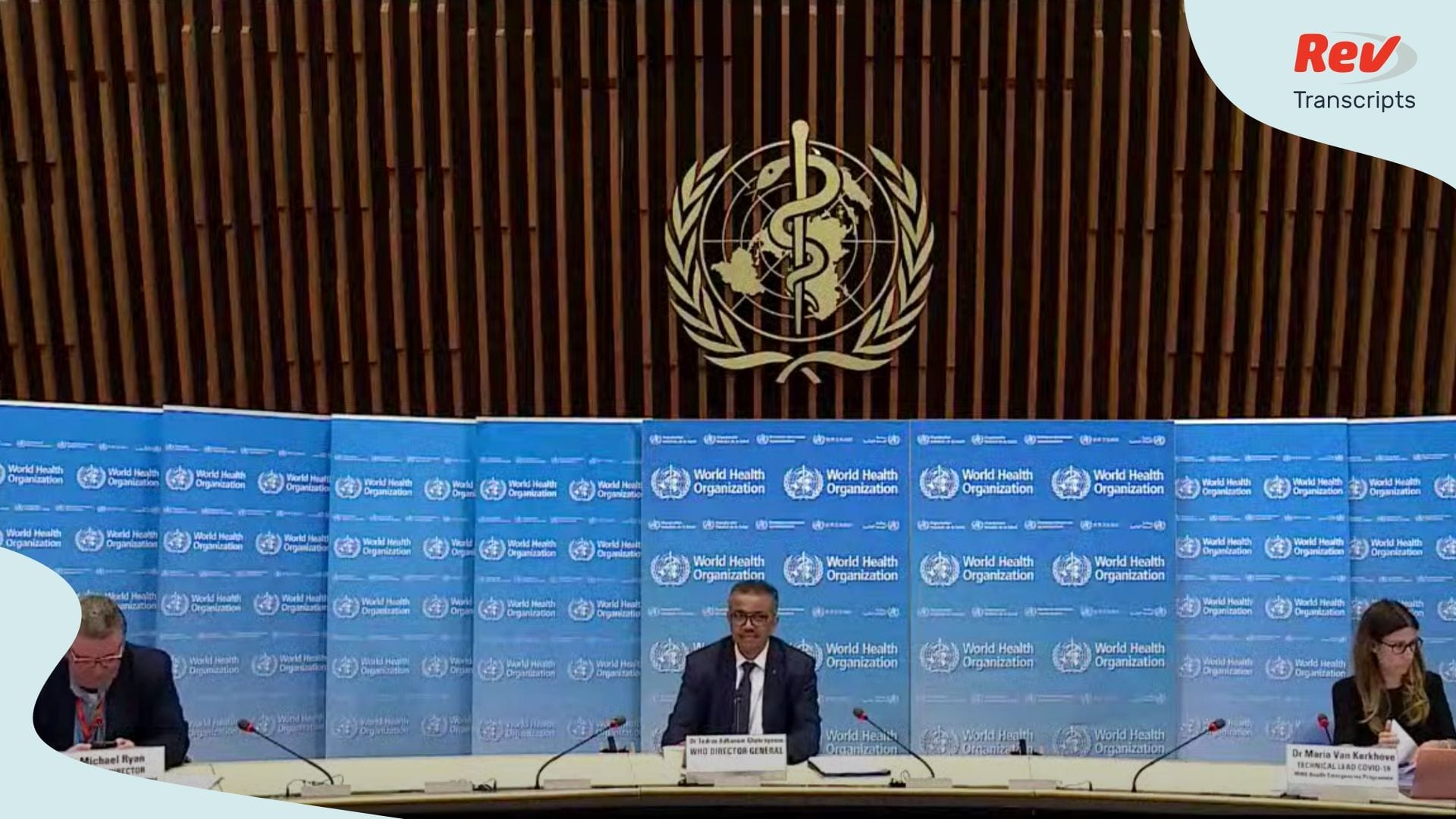 World Health Organization Press Conference June 22