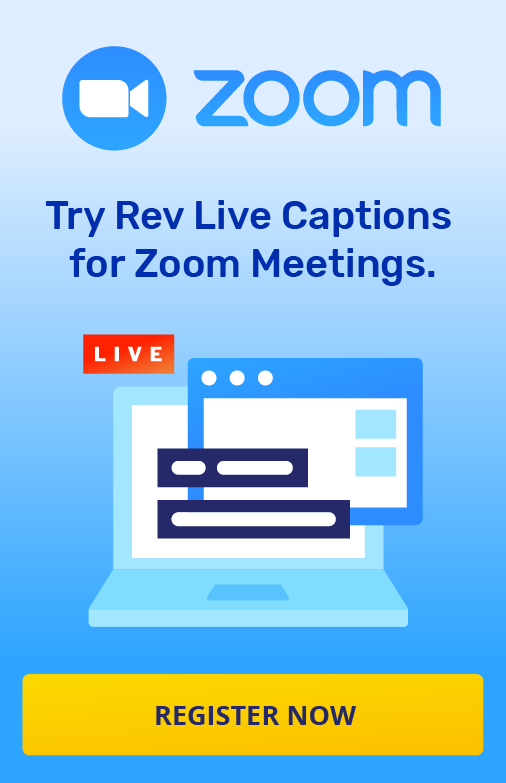 Zoom Live Captions