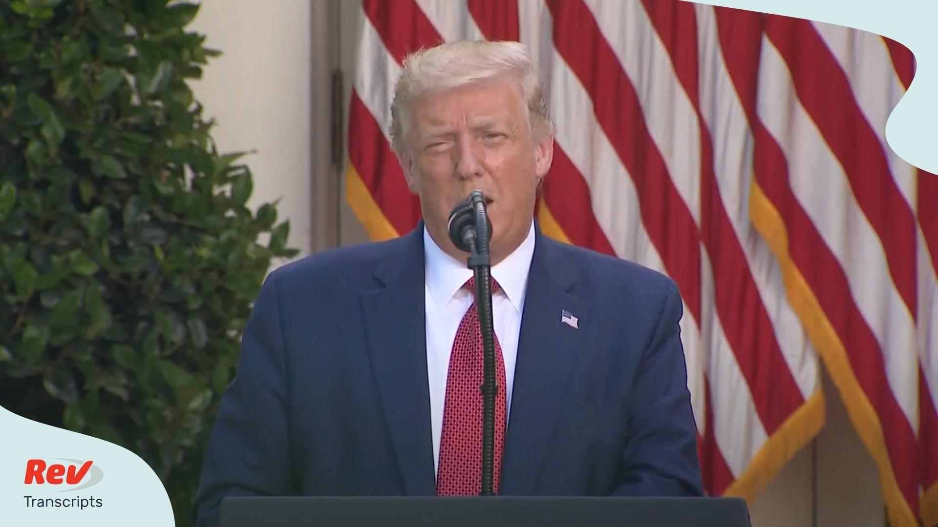 Donald Trump Press Conference Transcript July 14