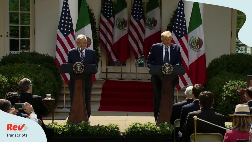 Donald Trump Press Conference Transcript July 8