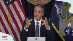 Andrew Cuomo Press Conference July 1
