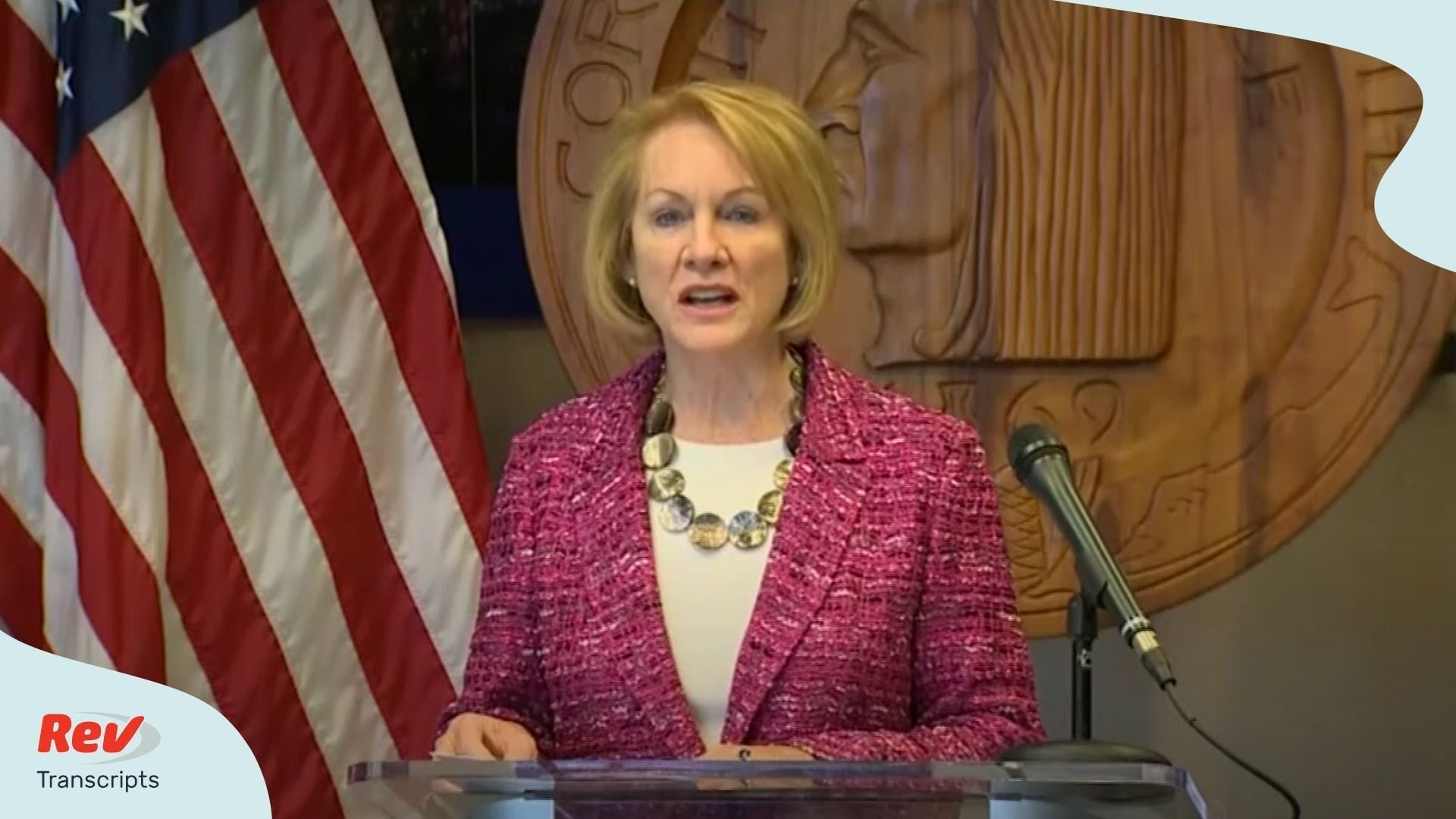 Seattle Mayor Jenny Durkan held a July 24 press conference