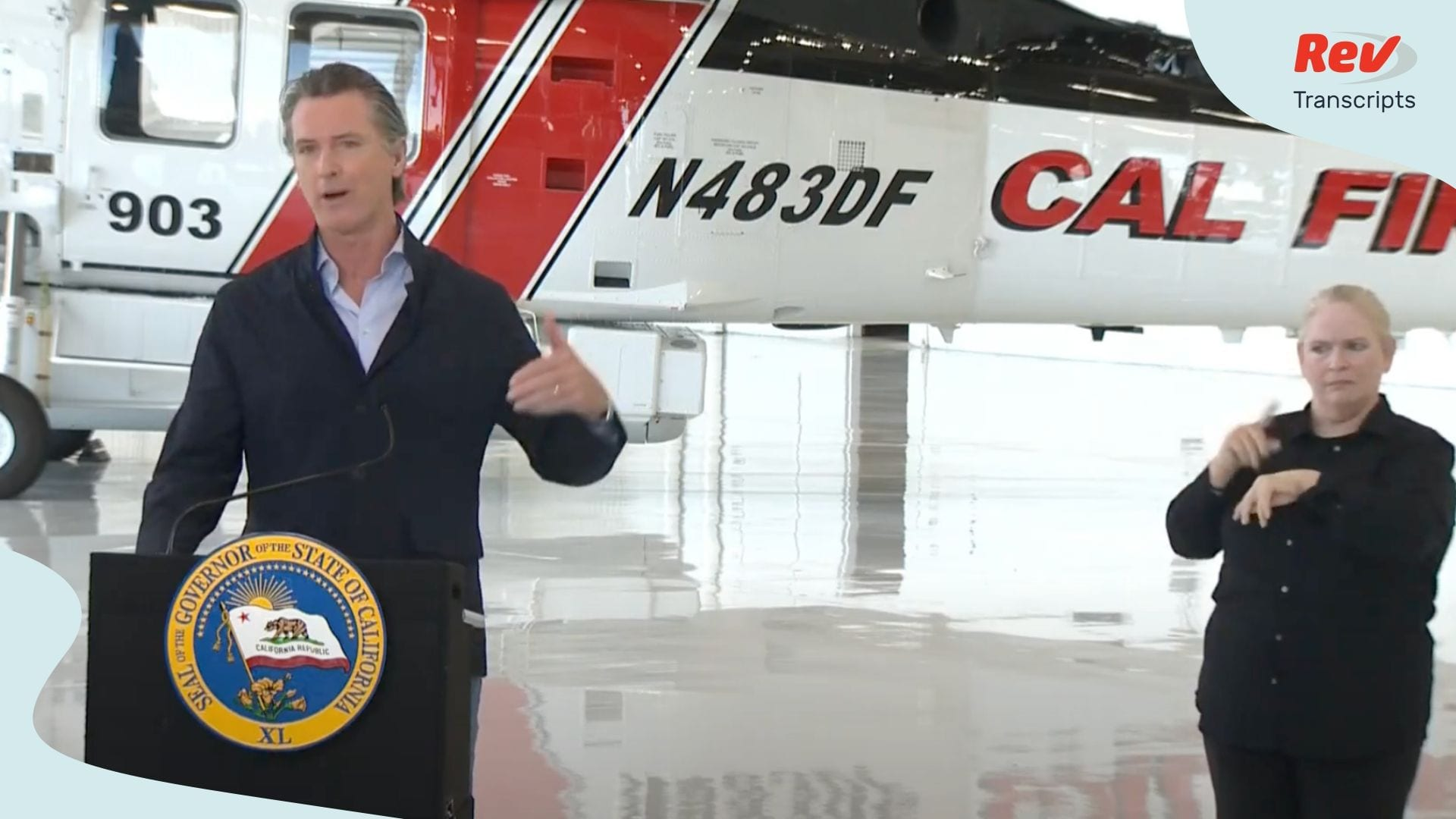 Gavin Newsom Press Conference July 9
