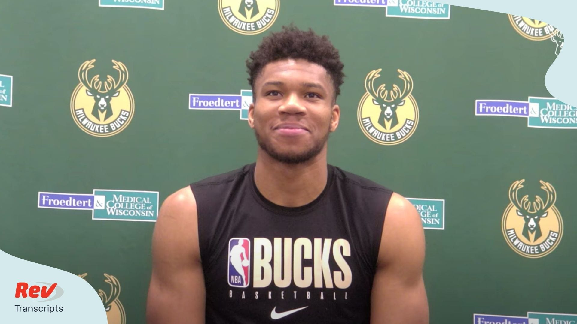 Giannis Antetokounmpo Press Conference July 1