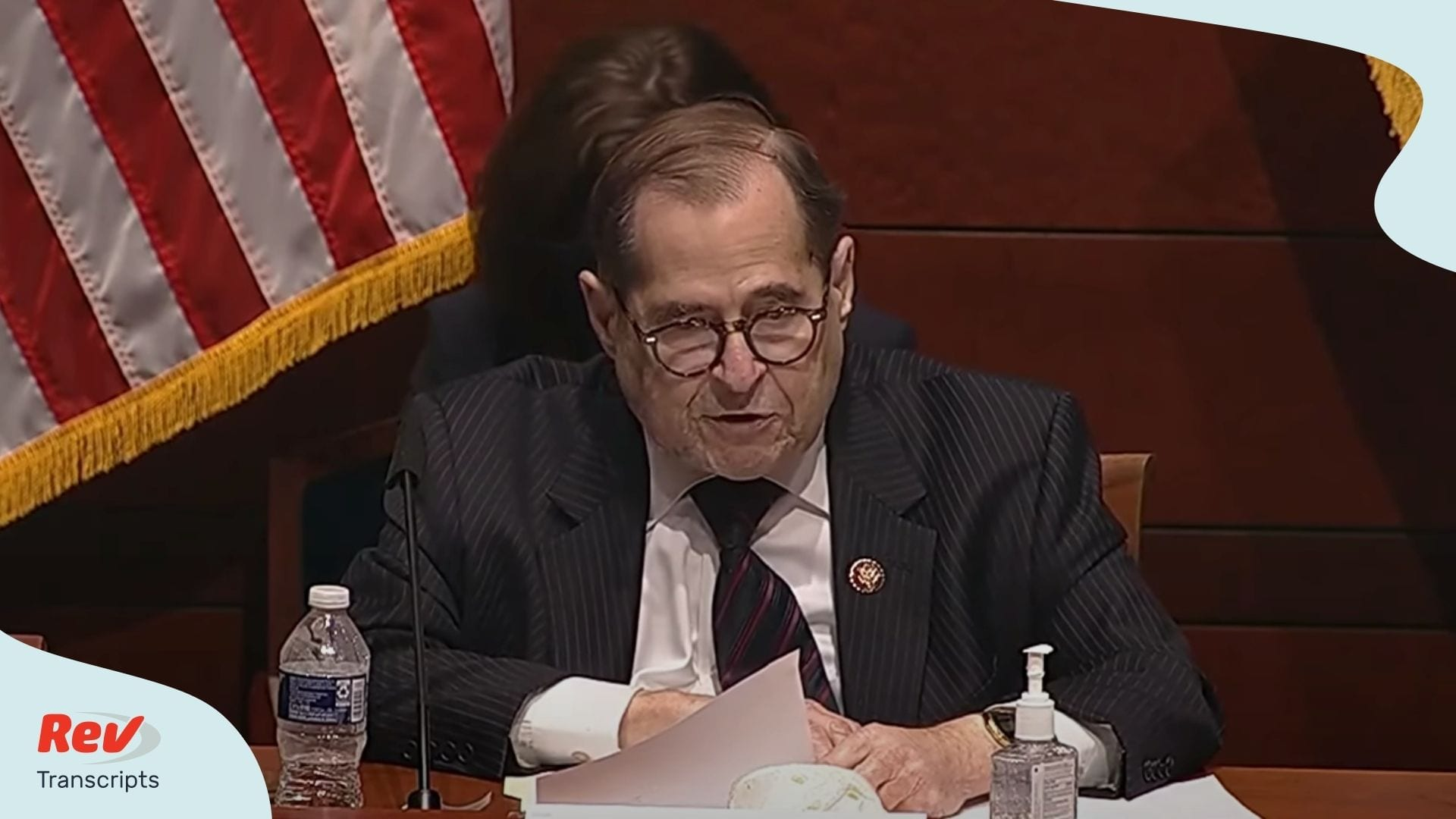 Jerry Nadler Questioning William Barr Hearing