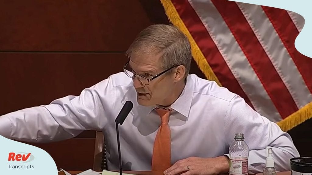 Jim Jordan Opening Statement Transcript Barr Hearing