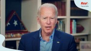Joe Biden Speech Transcript July 8