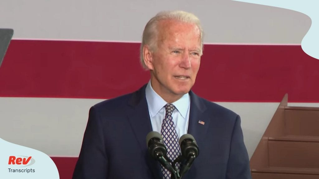 Joe Biden Speech Transcript July 9