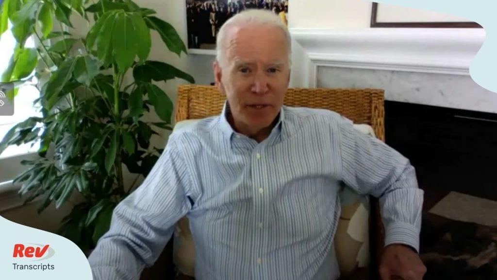 Biden Speech National Education
