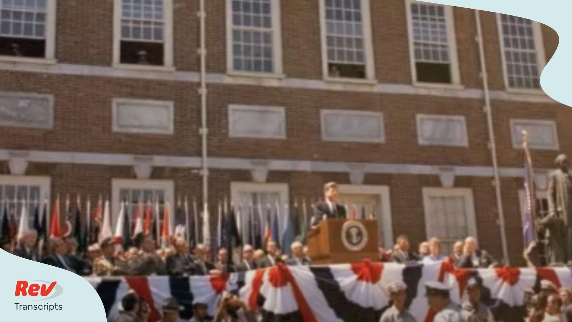 John F Kennedy 4th of July Speech