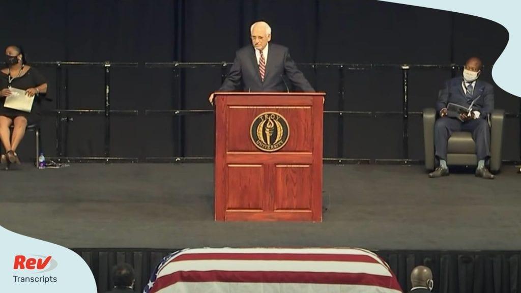 John Lewis Funeral & Memorial Service Transcript
