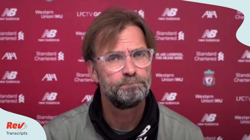 Jürgen Klopp's pre-match press conference Manchester City