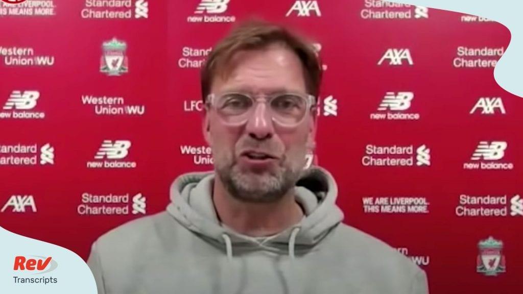 Jurgen Klopp After Liverpool wins title