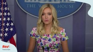 Kayleigh McEnany Press Conference July 1
