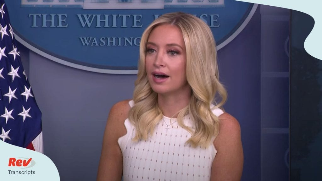 Kayleigh McEnany Press Conference July 9