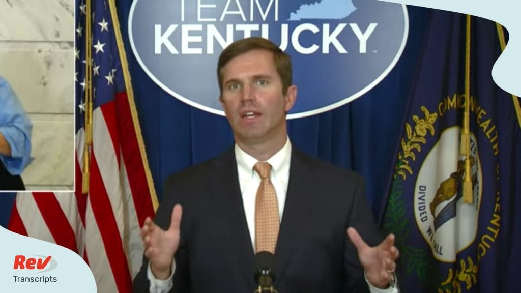 Kentucky Governor Andy Beshear Press Conference July 27
