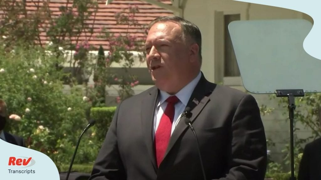 Mike Pompeo China Speech Transcript