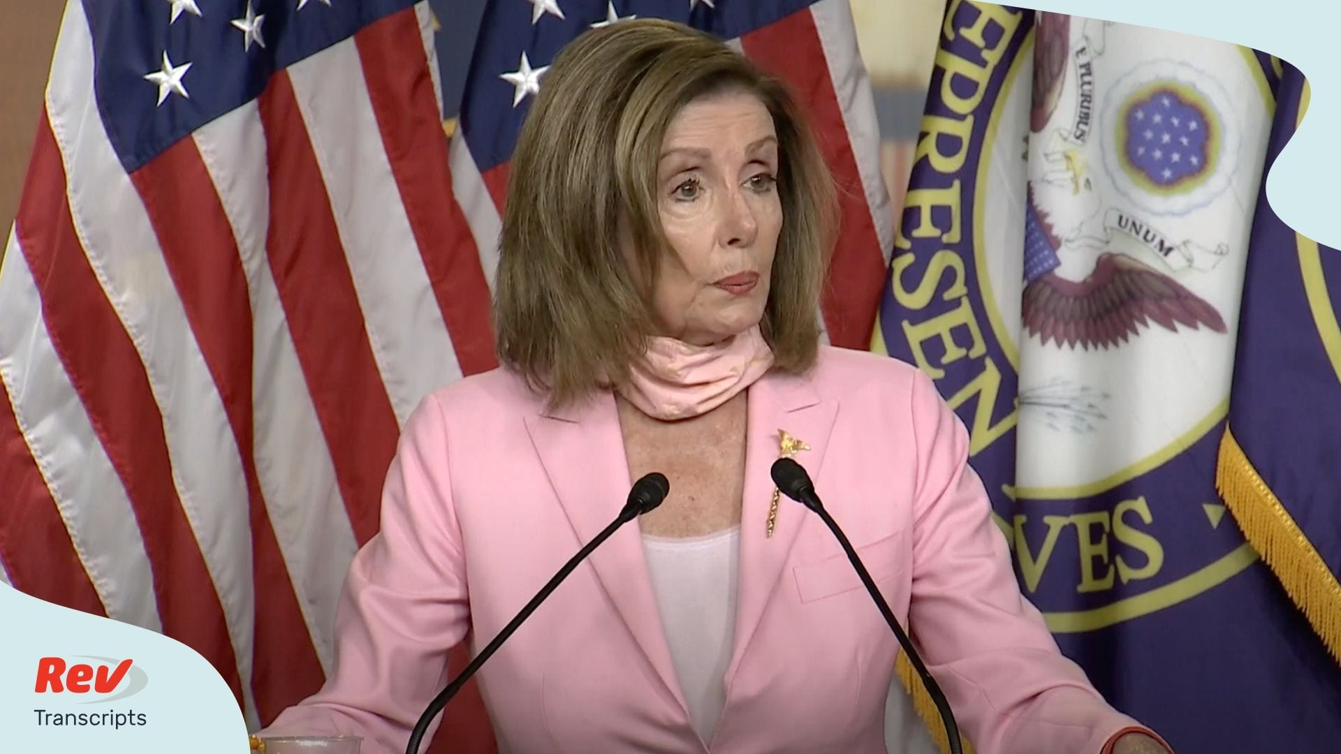 Nancy Pelosi Press Conference July 9