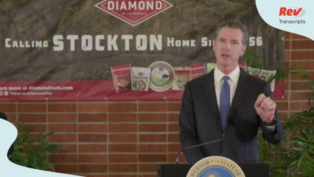 California Governor Gavin Newsom July 27 Press Conference Transcript