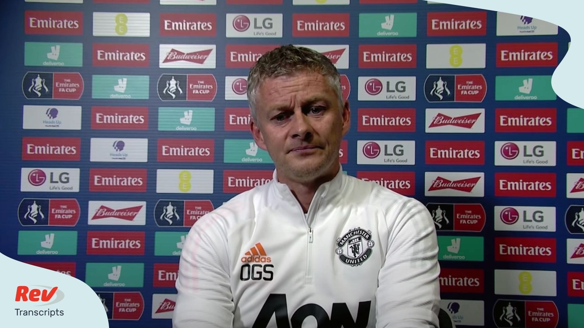 Ole Gunnar Solskjaer Press Conference Transcript Chelsea v Manchester United