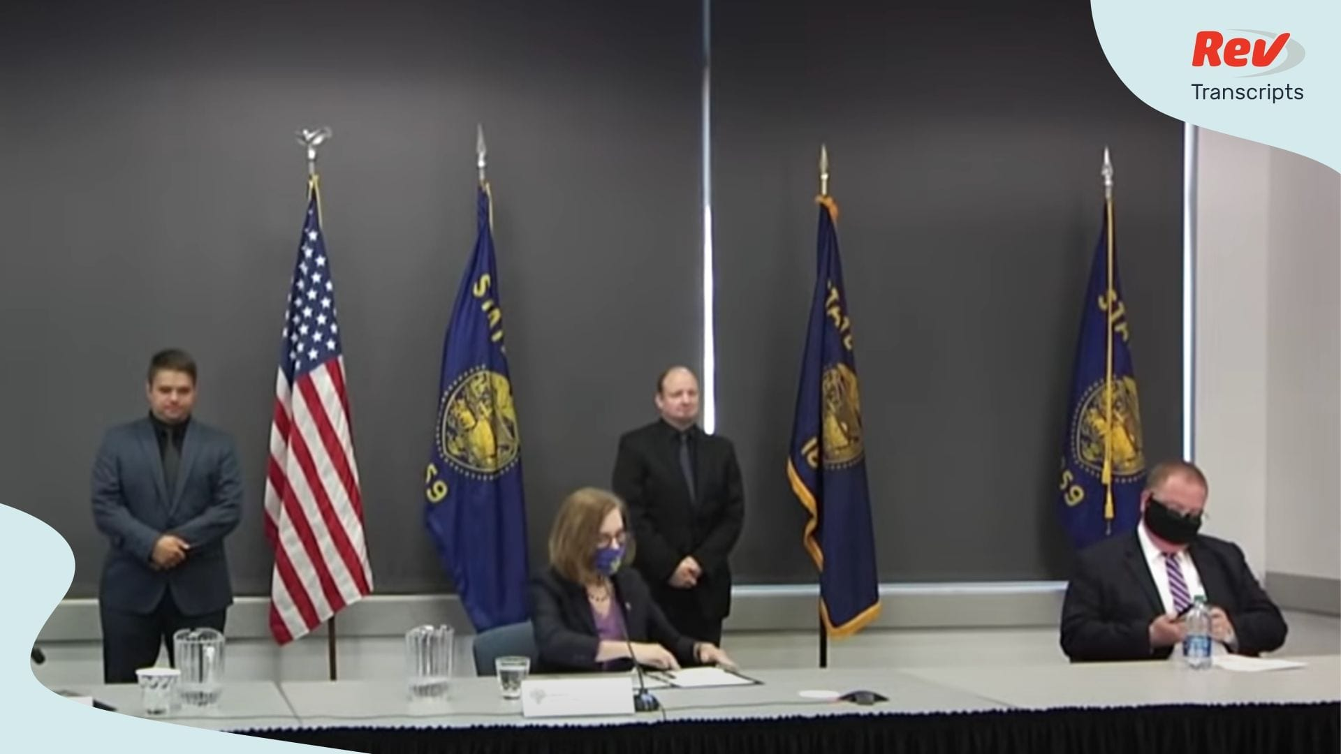 Oregon Governor Kate Brown Press Conference July 13